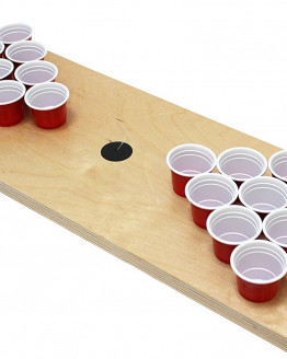 MiniBierPong Holz